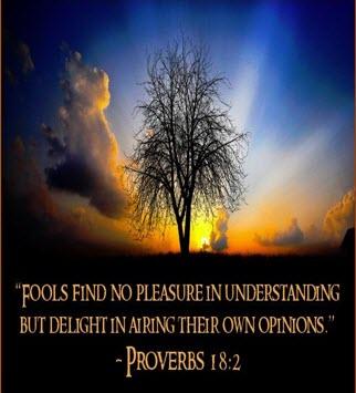 Proverbs 18 – SelectedVerses