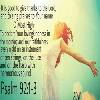 Psalms 92 (ESV) SelectedVerses