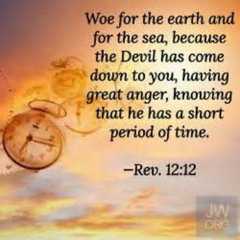 The Wrath of Satan's failure . ..