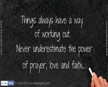 Pray or Prayer . . .Learn from Those thatdid.