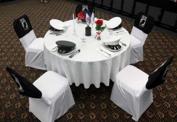 MISSING MAN TABLE & HONORSCEREMONY