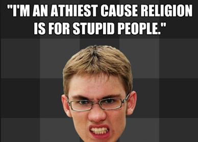 Are you afraid of theAtheist?