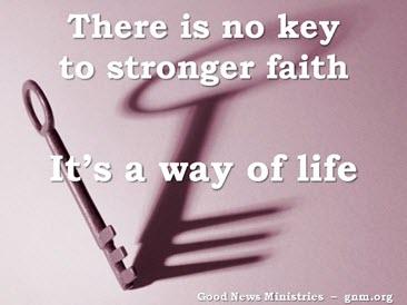 Faith is Stronger thanReason