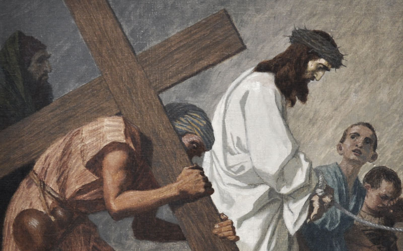 Carrying the Cross . . .3 Stories
