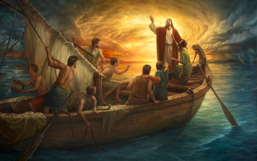 1 Event 3 perspectives – Jesus Calms the Storm