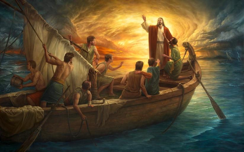 1 Event 3 perspectives – Jesus Calms theStorm