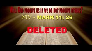 KJV_NIV Deleted Verse